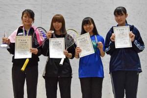 女子U19入賞者