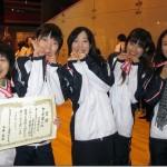 女子3位学習院