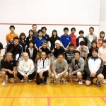 チャリティスカッシュ2011大阪 1