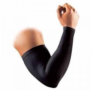 二の腕とヒジの部分が分かれてない。 手首まであるタイプ