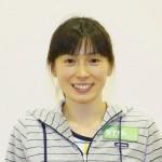 コーチの松井千夏選手