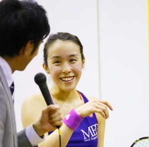 小林海咲(PSAプレーヤー・ワールドランキング42位)