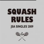 スカッシュルール 2009年版